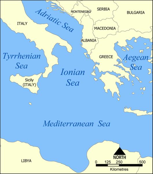 A Sea In Atlantic Ocean