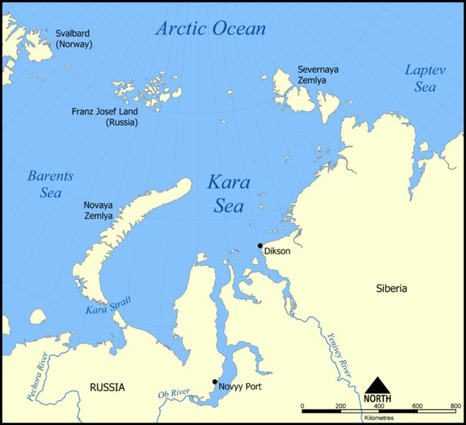 severnaya zemlya map. in Severnaya Zemlya. Map