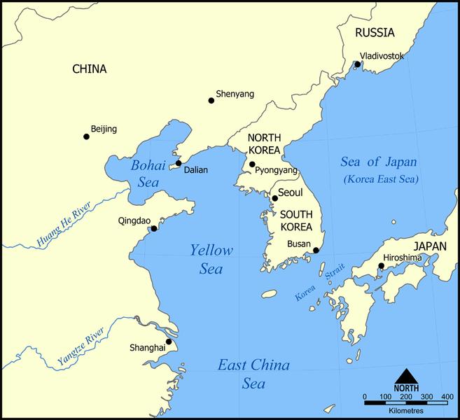 Yellow sea sea in pacific ocean yellowsea gumiabroncs Choice Image